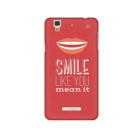 Smile Micromax Yu Yureka Plus Phone Cover