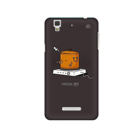 Smoking Pot Micromax Yu Yureka Plus Phone Cover