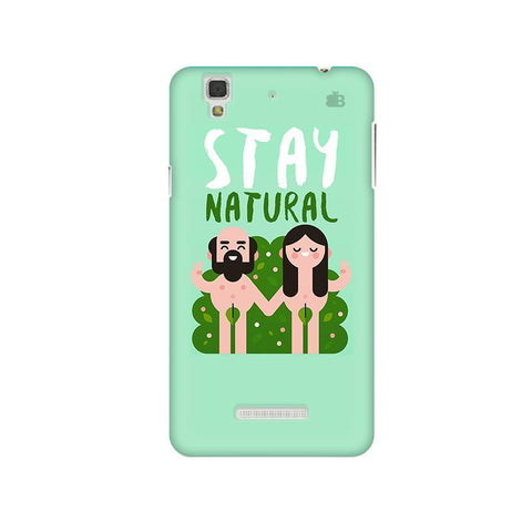 Stay Natural Micromax Yu Yureka Plus Phone Cover