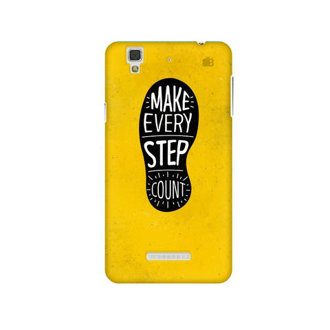 Step Count Micromax Yu Yureka Plus Phone Cover