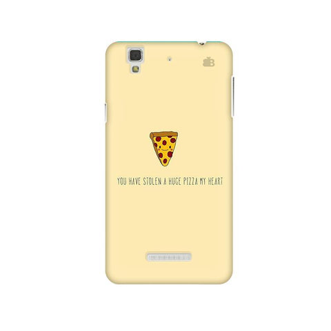 Stolen Huge Pizza Micromax Yu Yureka Plus Phone Cover