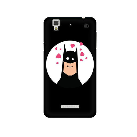 Superhero in Love Micromax Yu Yureka Plus Phone Cover