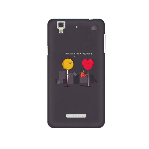 Sweetheart Micromax Yu Yureka Plus Phone Cover