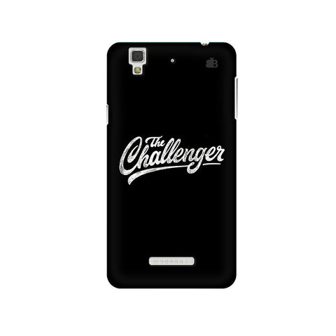 The Challenger Micromax Yu Yureka Plus Phone Cover