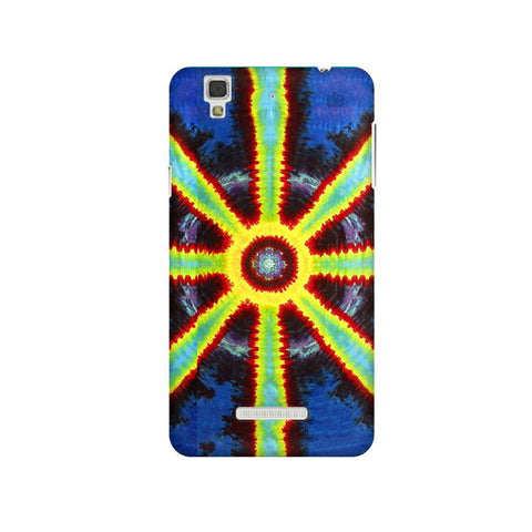 Tie & Die Pattern Micromax Yu Yureka Plus Phone Cover