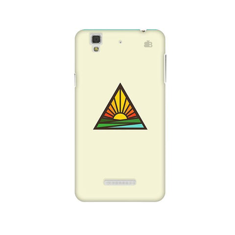 Triangular Sun Micromax Yu Yureka Plus Phone Cover