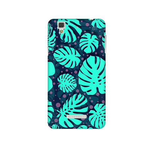 Tropical Leaves Pattern Micromax Yu Yureka Plus Phone Cover