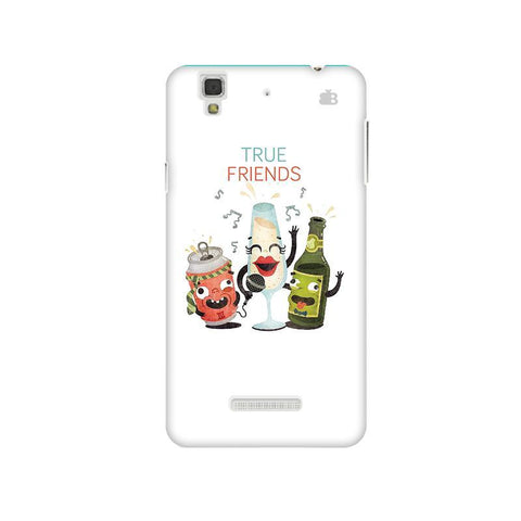 True Friends Micromax Yu Yureka Plus Phone Cover