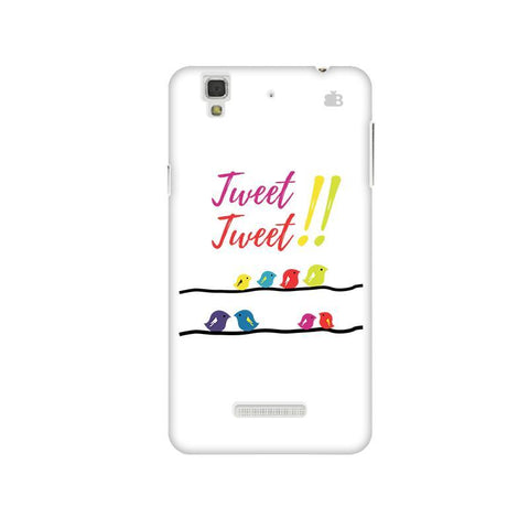Tweet Tweet Micromax Yu Yureka Plus Phone Cover