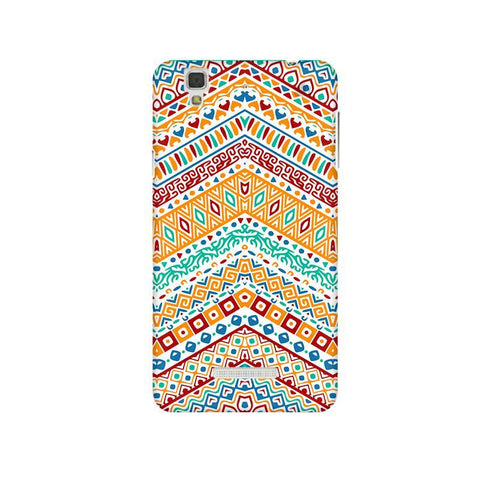 Wavy Ethnic Art Micromax Yu Yureka Plus Phone Cover
