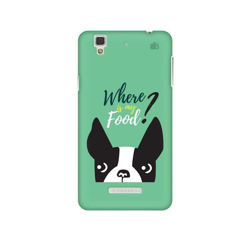 Where is my Food Micromax Yu Yureka Plus Phone Cover