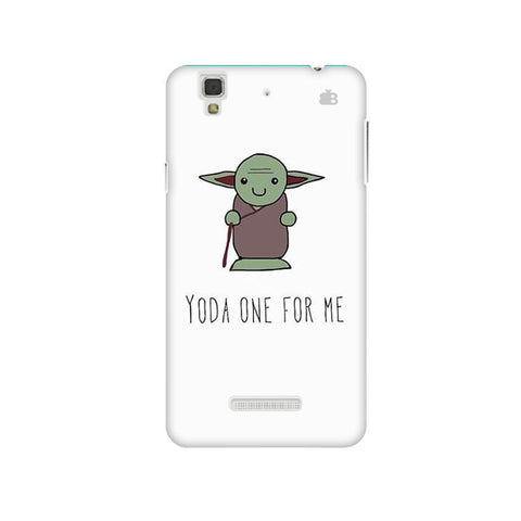 Yoda One Micromax Yu Yureka Plus Phone Cover