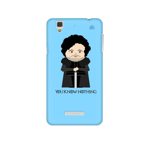 You Know Nothing Micromax Yu Yureka Plus Phone Cover