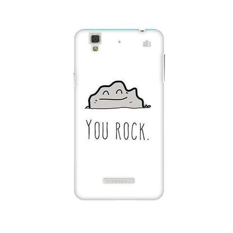 You Rock Micromax Yu Yureka Plus Phone Cover