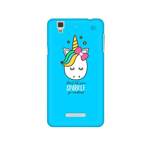 Your Sparkle Micromax Yu Yureka Plus Phone Cover