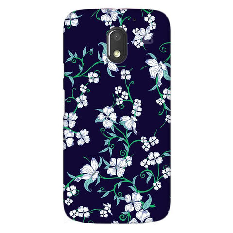 Dogwood Floral Pattern Moto E3 Phone Cover