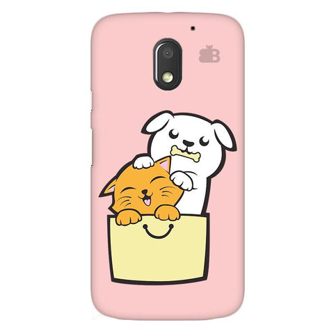 Kitty Puppy Buddies Moto E3 Phone Cover