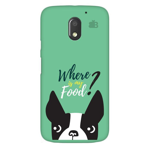 Where is my Food Moto E3 Power Phone Cover