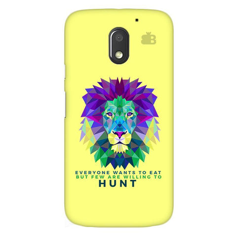 Willing to Hunt Moto E3 Power Phone Cover