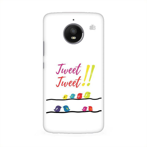 Tweet Tweet Moto E4 Phone Cover