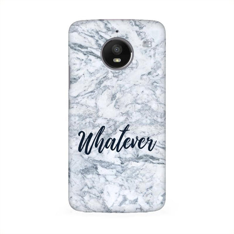 Whatever Moto E4 Phone Cover