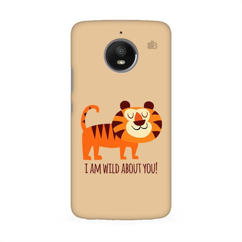 Wild About You Moto E4 Phone Cover