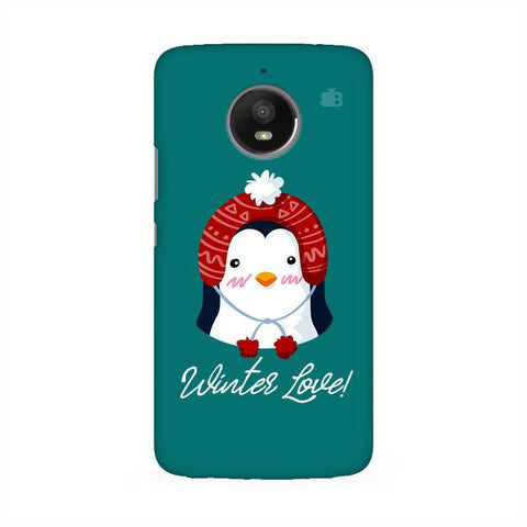 Winter Love Moto E4 Phone Cover