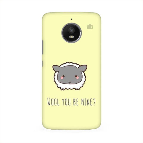 Wool Moto E4 Phone Cover