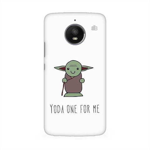 Yoda One Moto E4 Phone Cover