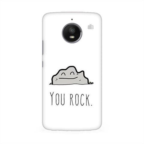 You Rock Moto E4 Phone Cover