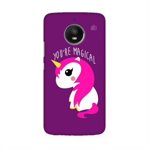 You're Magical Moto E4 Phone Cover