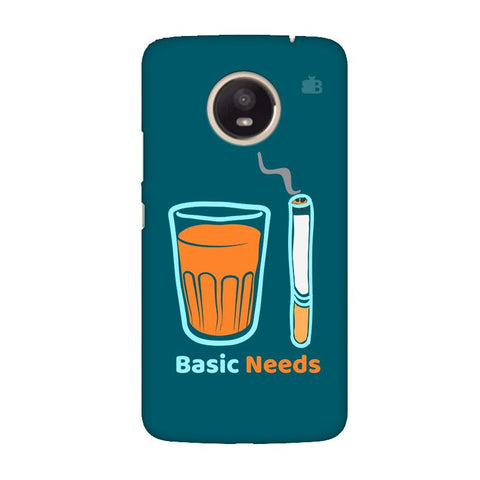 Chai Sutta Basic Moto E4 Plus Cover