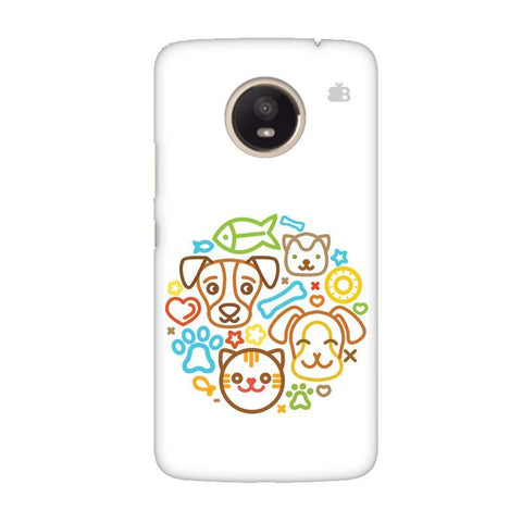 Cute Pets Moto E4 Plus Phone Cover
