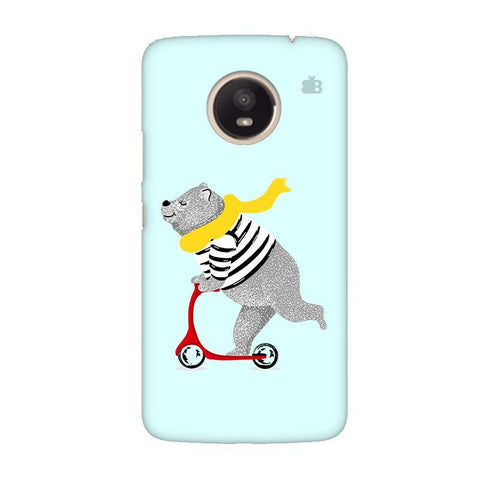 Happy Bear Moto E4 Plus Phone Cover