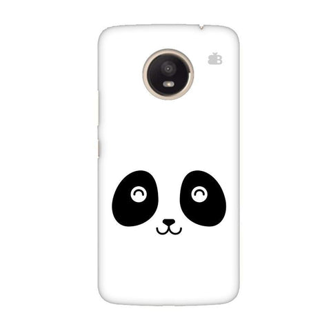 Happy Little Panda Moto E4 Plus Phone Cover
