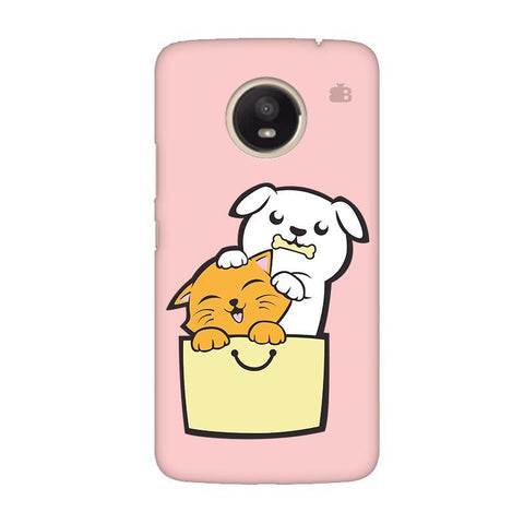 Kitty Puppy Buddies Moto E4 Plus Phone Cover