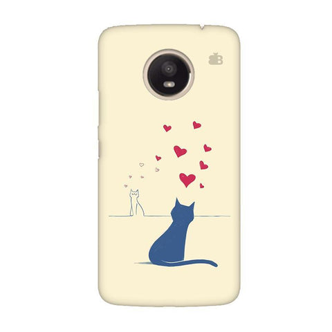 Kitty in Love Moto E4 Plus Phone Cover