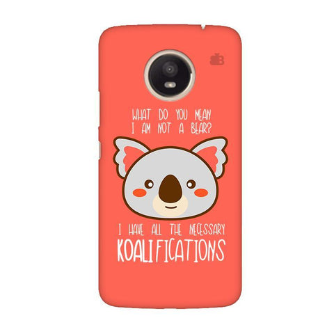 Koalifications Moto E4 Plus Phone Cover
