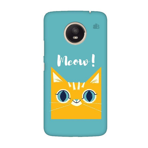 Meow Moto E4 Plus Phone Cover