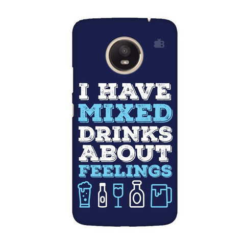 Mixed Drinks Moto E4 Plus Phone Cover