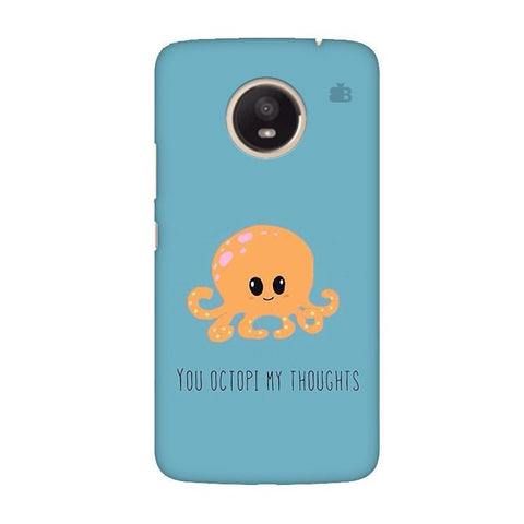 Octopi Thoughts Moto E4 Plus Phone Cover