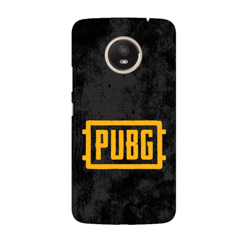 PUBG Moto E4 Plus Cover
