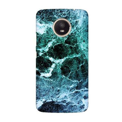 Sea Marble Moto E4 Plus Phone Cover