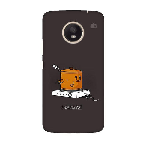 Smoking Pot Moto E4 Plus Phone Cover