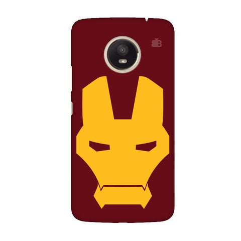 Superhero Mask Moto E4 Plus Phone Cover