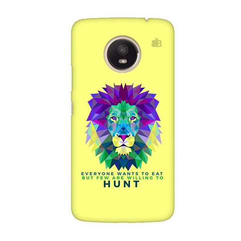 Willing to Hunt Moto E4 Plus Phone Cover