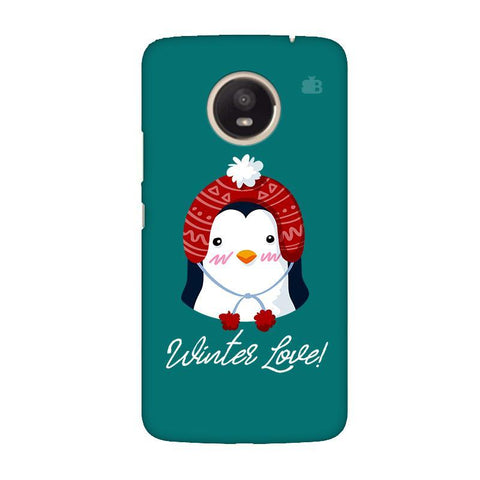 Winter Love Moto E4 Plus Phone Cover