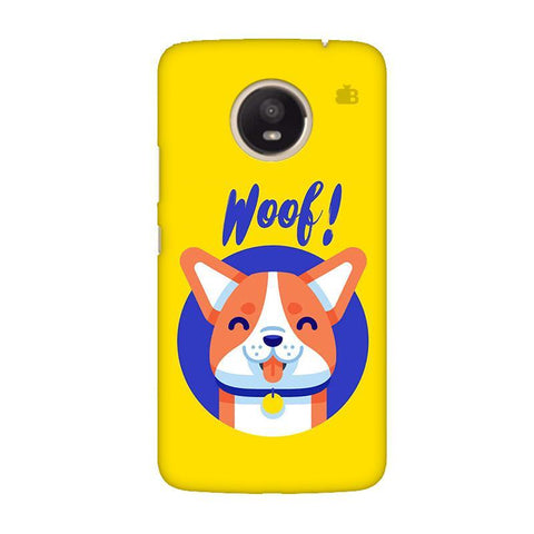 Woof Moto E4 Plus Phone Cover