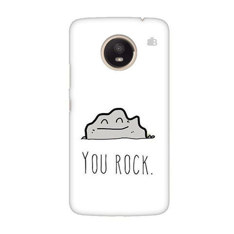 You Rock Moto E4 Plus Phone Cover