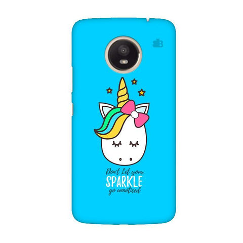 Your Sparkle Moto E4 Plus Phone Cover